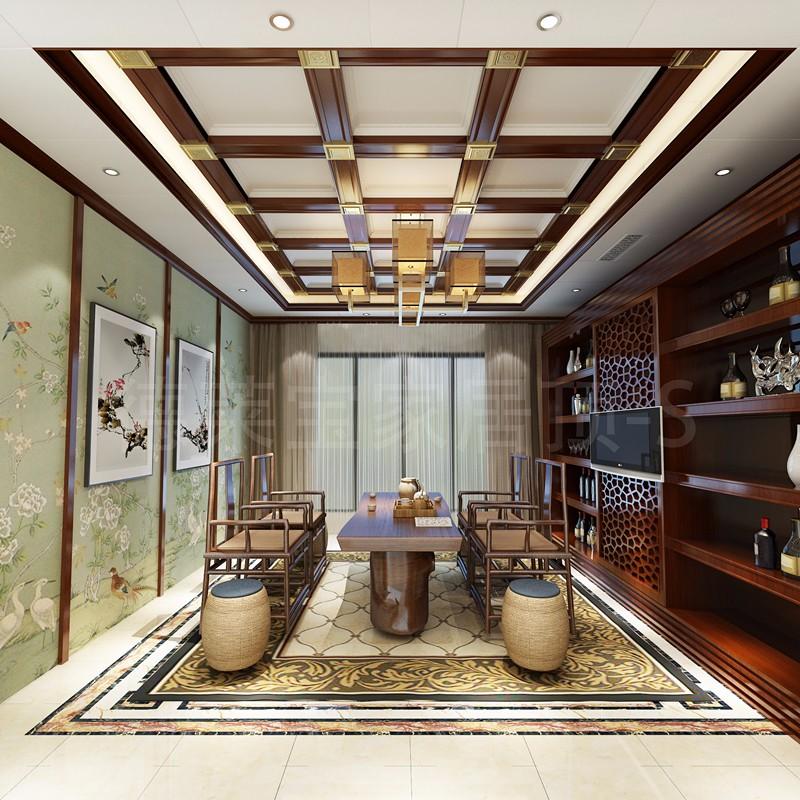 简约中式茶室